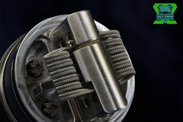Staggered Fused Clapton (2-Core) | 0.09Ω-0.52Ω Dual-Set