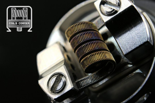 SSFC - 3.5 Wraps Ø 3.5mm | 0.22Ω Single-Coil