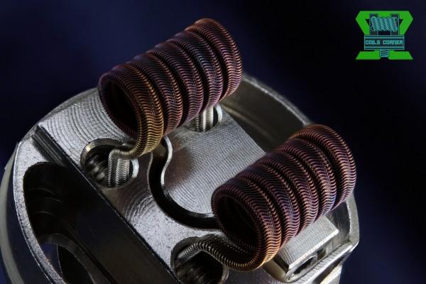 Fralien (Framed Staple Alien) - 4 Wraps Ø 3mm | 0.07-0.12Ω Dual-Set