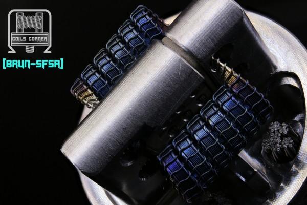 Brun-SFSA - 5 Wraps Ø 3.5mm | 0.12Ω-0.15Ω Dual-Set