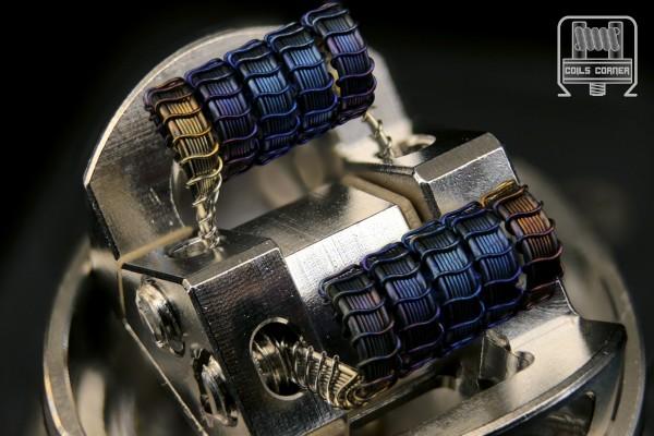SFSA (6ply) - 4 Wraps Ø 3.5mm | 0.08-0.14Ω Dual-Set