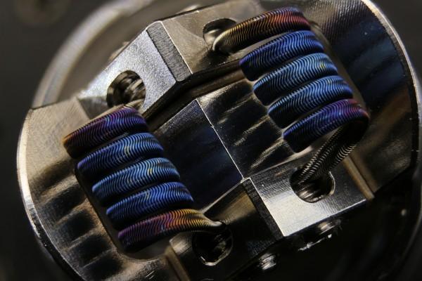 Alien (fine) (3-Core) - Ø 3mm - N80 | 0.08Ω-0.26Ω Dual-Set
