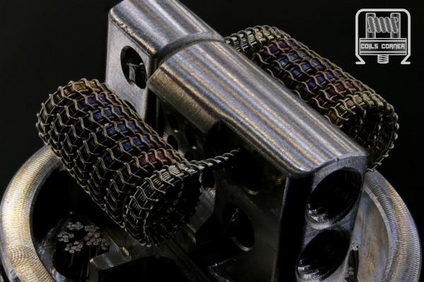 Brun-SFSA (4ply) - 6 Wraps Ø 3.5mm   0.16-0.22Ω Dual-Set