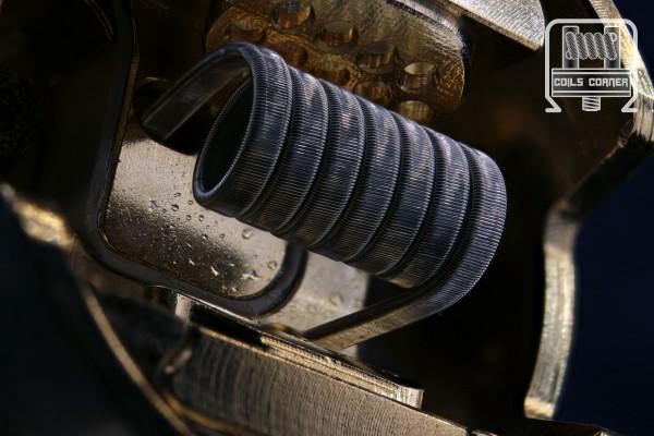 Fine Fused Staple (8 Ply) - Mato - Ø 3.5mm - 0.4/0.45Ω- Single-Coil