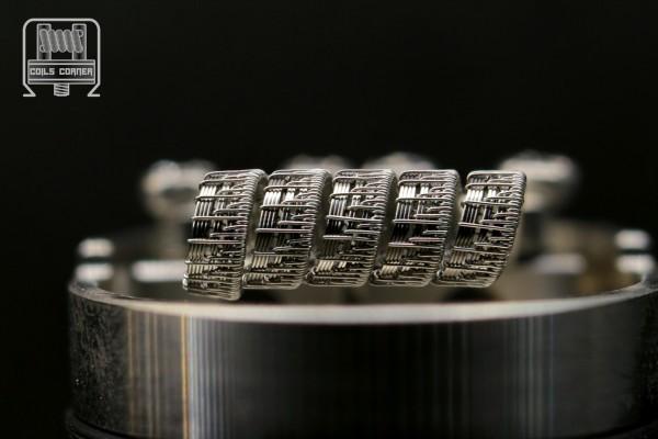Half-Pitchfork V1 - Ø 3/3.5mm | 0.19Ω-0.25Ω Single-Coil