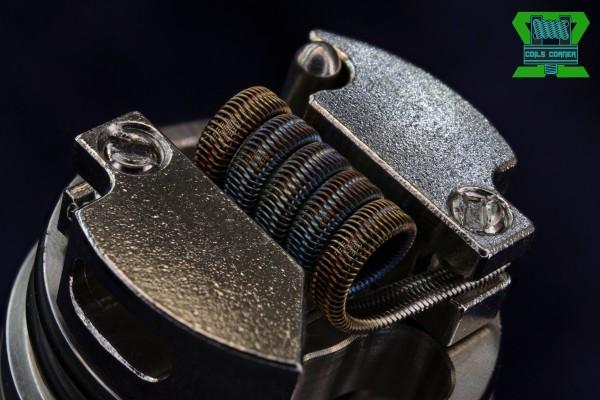 Framed Staple Tsuka Alien - 3.5/4.5 Wraps Ø 3.5mm | 0.16-0.27Ω SIngle-Coil
