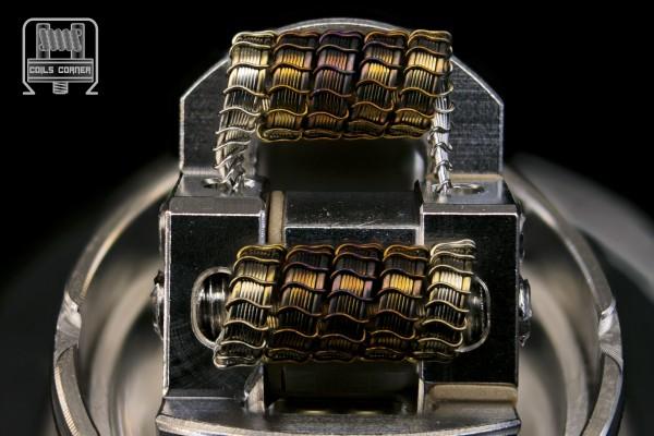 SFSA (6ply) - 4 Wraps Ø 3mm | 0.07-0.12Ω Dual-Set
