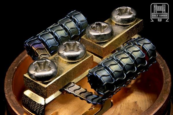 SFSA (8ply) - 4 Wraps Ø 3mm | 0.08-0.1Ω Dual-Set