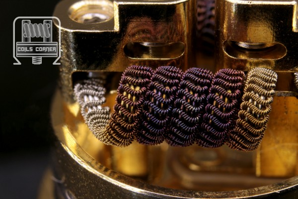 Mothership Alien (3-Core) - 4 Wraps Ø 3mm | 0.08Ω-0.14Ω Dual-Set