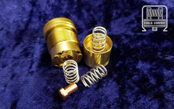 Feder (Solid Silver Spring) für Purge & AV