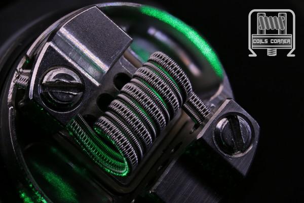 SFC-C - N80 - 4.5 Wraps Ø 3mm | 0.32Ω Single-Coil