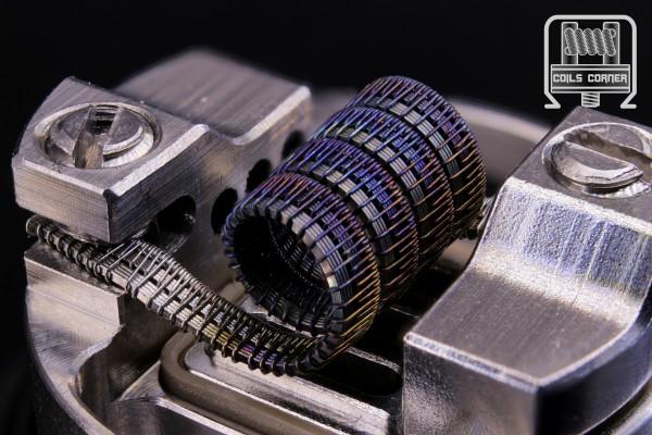 Half-Pitchfork V2 - Ø 3mm | 0.08Ω-0.1Ω Dual-Set