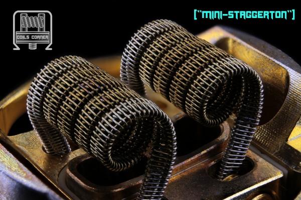 """Mini-Staggerton"" Ø 3mm | 0.08Ω-0.26Ω Dual-Set"