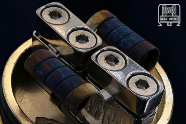UFFFS 14ply - 4 Wraps Ø 3mm | 0.09/0.13Ω Dual-Set