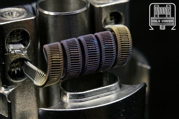 SSFC - 4 Wraps Ø 3mm | 0.09Ω-0.12Ω Dual-Set