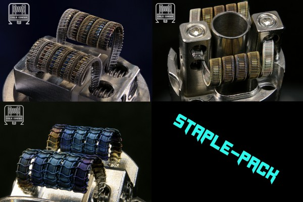 Staple-Pack - 4 Wraps Ø 3mm | 3x Dual-Set