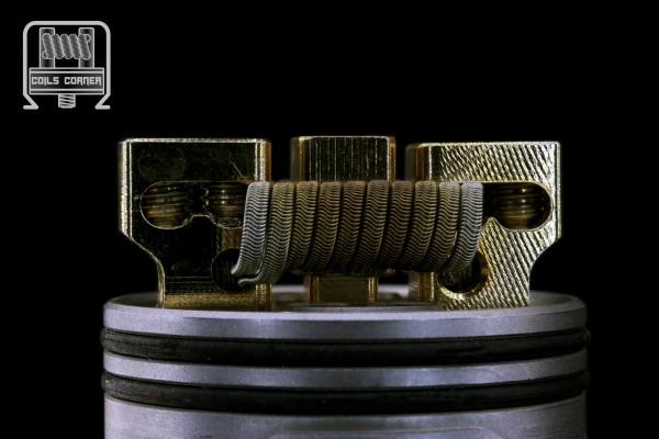 ParAlien - Ø 3mm 4 Wraps N80 | 0.12Ω Dual-Set