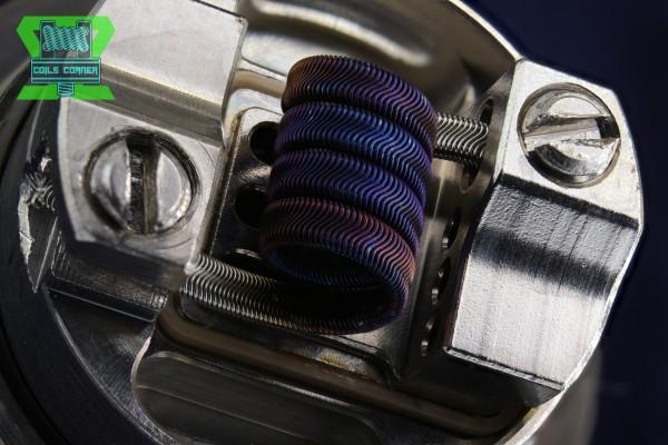 Fralien (Framed Staple Alien) - 3.5 Wraps Ø 3.5mm | 0.14-0.24Ω Single-Coil
