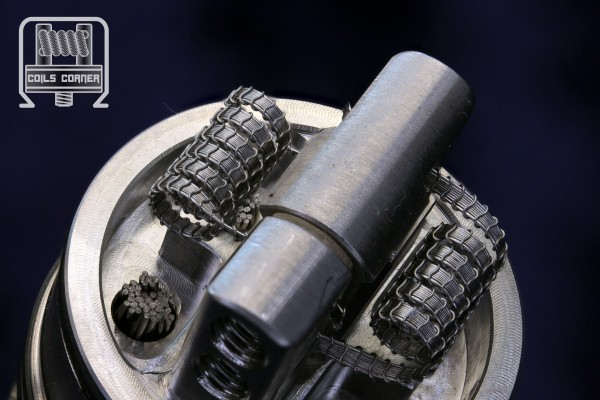 SFSA (6ply) Eco - 5 Wraps Ø 3/3.5mm | 0.16-0.26Ω Dual-Set