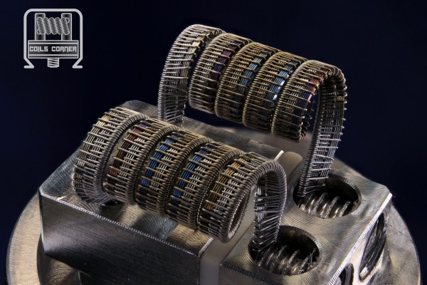 Half-Pitchfork V2 - Ø 3mm | 0.08Ω-0.11Ω Dual-Set